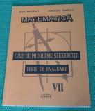 Matematica Ghid de probleme si exerctii teste  evaluare clasa a VII-a Pelteacu