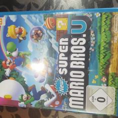 Super Mario Bros U - Jocuri WII U, Actiune, Toate varstele, Multiplayer