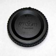 Capac body Nikon F mount(1734) - Capac Obiectiv Foto