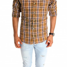 Camasa tip Zara - camasa barbati - camasa slim - camasa fashion - cod 6747, Marime: S, XL, XXL, Culoare: Din imagine, Maneca lunga