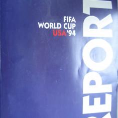 Carte sport, fotbal, Cupa Mondiala SUA 1994, 306 pagini, color, limba engleza