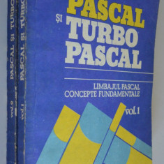 Pascal si turbo pascal 1992 (2 volume)