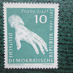 TIMBRE GERMANIA -DDR==SERIE==MNH, Nestampilat
