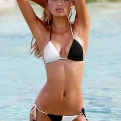 Costum de baie Victoria's Secret marime S M; victoria victorias, Culoare: Din imagine, Doua piese, Bikini