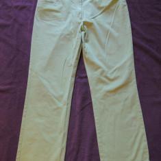 Pantaloni verzi dama PAUL& SHARK, mas. L - Pantaloni dama, Marime: L, Culoare: Verde, Lungi, Bumbac