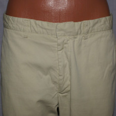 Pantaloni barbati chino GANT culoarea bej marimea W32 / 48, Lungi, Bumbac