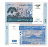 SV * Madagascar 100  ARIARY  /  500 FRANCS  2006     UNC