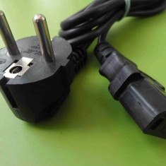 Cablu alimentare PC monitor imprimanta