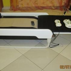 Pat de masaj cu role de jad pliabil - Masa masaj