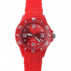 Ceas fete femei - marca ICE - carcasa rosie - Ceas unisex
