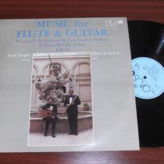 JOSEF ZSAPKA/MILOS JURKOVIC-MUSIC FOR FLUTE & GUITAR disc vinil vinyl pickup