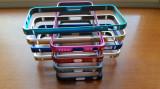 Bumper aliminiu / Bumper metalic / Husa pentru Iphone 5 / 5s / SE, Negru
