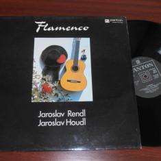 JAROSLAV RENDL/JAROSLAV HOUDL-FLAMENCO disc vinil vinyl pickup pick-up