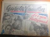"""Ziarul mondial-gazeta familiei 1 decembrie 1946-art. """"ce este nou la hollywood"""""""