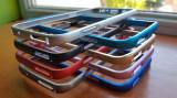 Cumpara ieftin Bumper aliminiu / Bumper metalic / Husa pentru Samsung Galaxy S7, Albastru