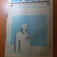 Revista urzica 15 iunie 1986-revista de satira si umor