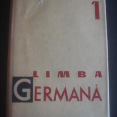 JEAN LIVESCU - LIMBA GERMANA * VOCABULAR volumul 1 - Curs Limba Germana