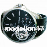 Pendulum Mechanical Watch ! Silver Case ! ! Cutie Cadou ! ! ! - Ceas barbatesc, Lux - sport, Mecanic-Manual, Inox, Cauciuc, Analog