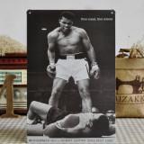 Reclama metalica vintage - Muhammad Ali vs Sonny Liston - 25 May 1965