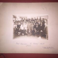 Foto - Balti - Corul Caminului G. Enescu - Carte Postala Moldova 1904-1918, Circulata, Fotografie