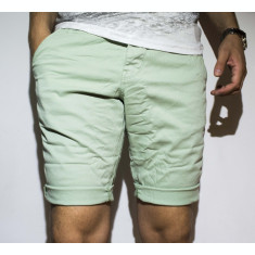 Pantaloni scurti - 100% bumbac pantaloni verzi pantaloni vara cod 22