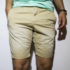 Pantaloni scurti barbati - bumbac pantaloni bej pantaloni barbat cod 36 - Bermude barbati, Marime: 29, Culoare: Din imagine