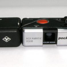 Agfamatic Pocket 2008 cu blitz(1769) - Aparat Foto cu Film Agfa, Mic