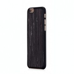 Husa iPhone 6s, 6 | Fell n Touch | Wood Series |Negru|Momax - Husa Telefon