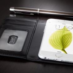 Husa iPhone 5s, 5   Slim Leather Case Flip Series  Vetter Flip - Husa Telefon Vetter, iPhone 5/5S/SE