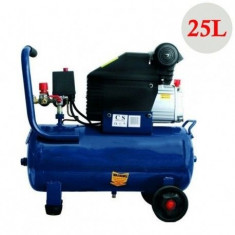 Compresor cu capacitate 25 litri profesional si 2CP - Compresor electric