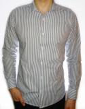 Cumpara ieftin Camasa dungi - camasa barbati camasa slim fit camasa fashion cod 18, L, M, Maneca lunga