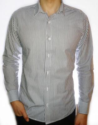 Camasa dungi - camasa barbati camasa slim fit camasa fashion cod 18 foto