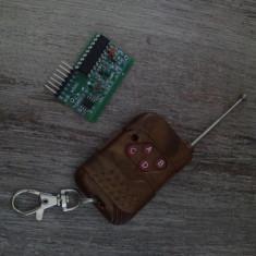Modul RF 315Mhz kit telecomanda + receiver 4 canale channel Arduino Raspberry pi