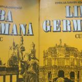 Limba germana curs practic 2 vol./an 1992/ 880pag- E.Savin, Ioan Lazarescu - Curs Limba Germana