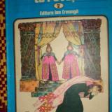 Cartea cu povesti (2) cuprinde 4 povesti / cu ilustratii//80pag/an 1981 - Carte de povesti