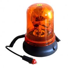 Girofar auto BestAutoVest 12V orange cu bec H1 si fixare magnetica