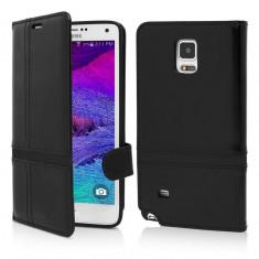 Husa Samsung Galaxy Note 4 |Flip Book Series| Vetter Flip - Husa Telefon Vetter, Piele Ecologica, Cu clapeta