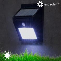 Lumină Solară cu Senzor de Mişcare Eco Solem - Lampa veghe copii