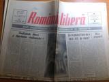 """ziarul romania libera 8 februarie 1990- art.""""coducatori noi cu vechi naravuri"""""""