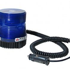 Girofar auto Automax 12V albastru stroboscopic, magnetic 11x10/9cm