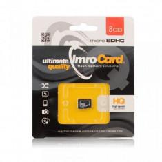Card Memorie MicroSD  8GB fara adaptor  Blue Star