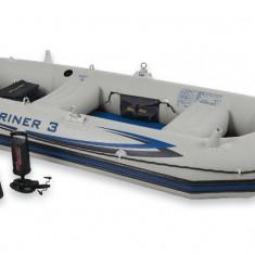 Barca Mariner 3 Intex, pentru 3-4 persoane ;inclus set vasle si pompa - Barca pneumatice