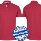 Tricou barbat Diadora Polo Piquet - tricou original - tricouri bumbac - Tricou barbati Diadora, Marime: S, Culoare: Rosu, Maneca scurta