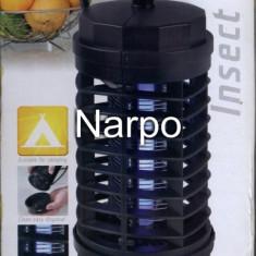 Aparat anti insecte muste tantari Fly Away 4 electric 4W lampa UV ultraviolete - Aparat antidaunatori