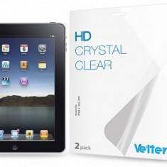 Folie protectie ecran iPad 4, 3rd, 2nd | 2 bucati| HD Vetter - Folie protectie tableta