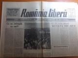 ziarul romania libera 13 februarie 1990- art.ce se intampa cu noi-octavian paler