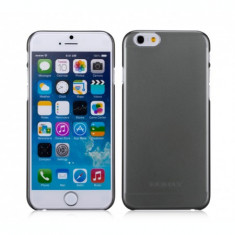 Husa iPhone 6s Plus, 6 Plus |Ultra Slim Tough Clear Breeze|Negru| Momax - Husa Telefon