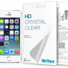 Folie protectie ecran iPhone 5s, 5 | 2 pack| HD Vetter - Folie de protectie