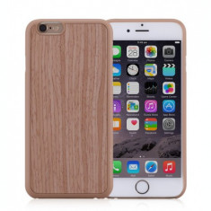 Husa iPhone 6s, 6 | Fell n Touch | Wood Series|Maro |Momax - Husa Telefon