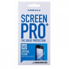 Folie protectie ecran Samsung i9235 Galaxy Golden LTE| fata+spate| Clear Momax - Folie de protectie